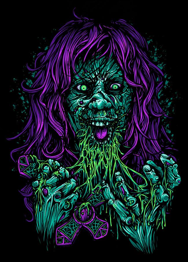 Exorcist - Dan Mumford