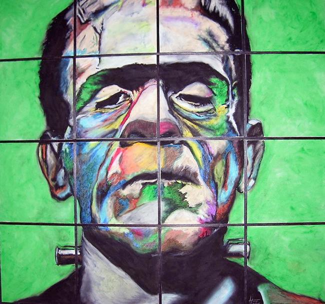 Frankenstein - Chainsaw Zombie