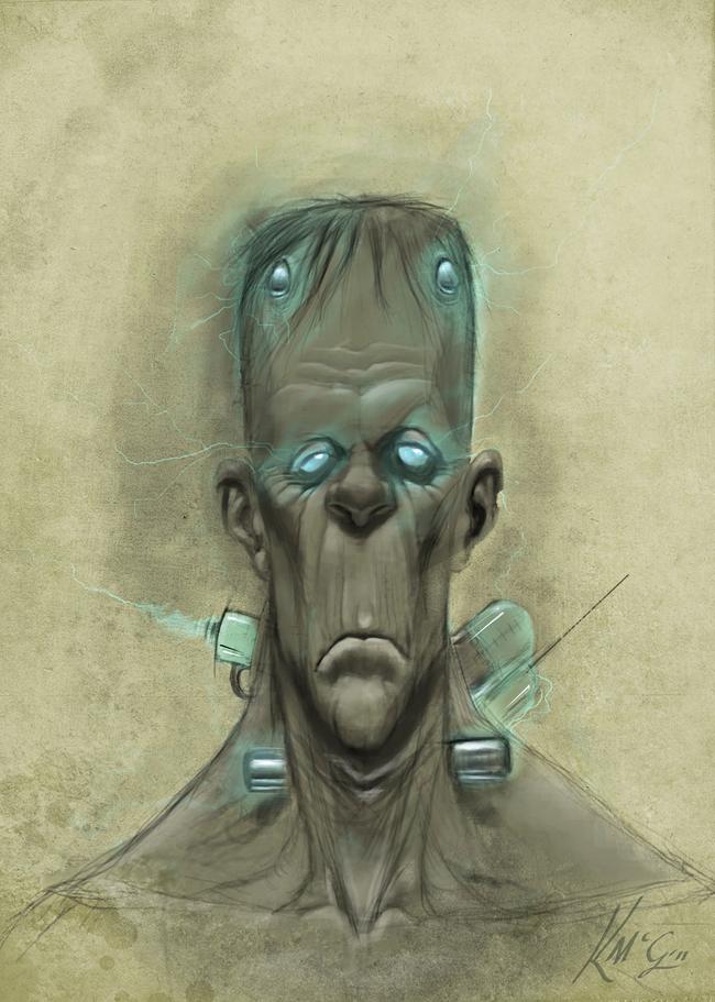 Frankenstein - Kieron McGuire