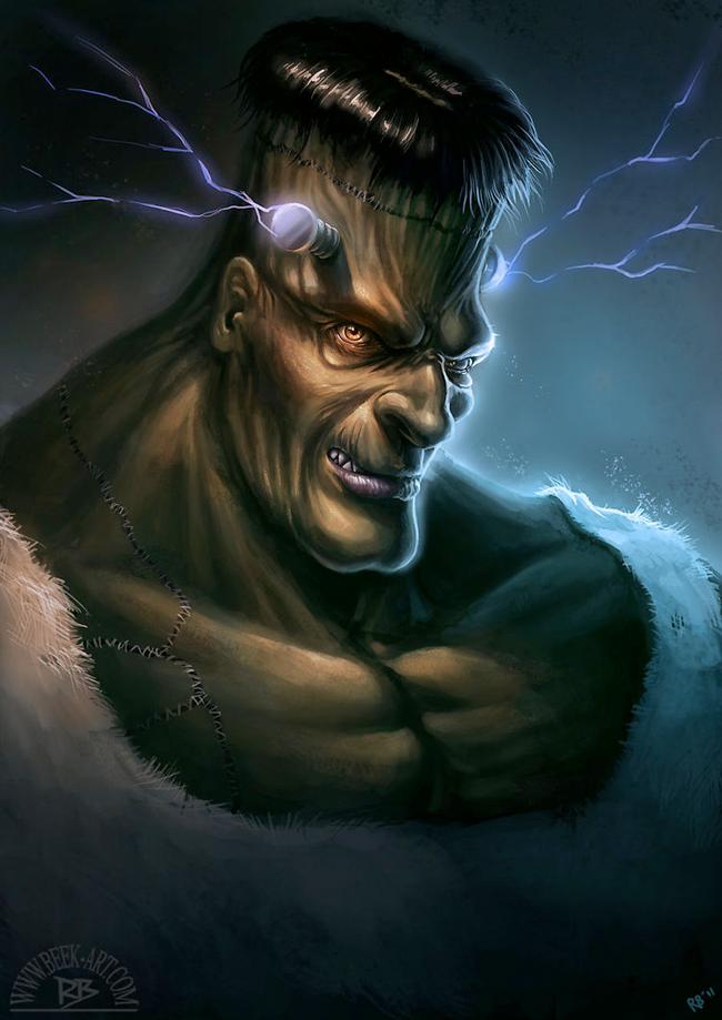 Frankenstein - Rogier van de Beek