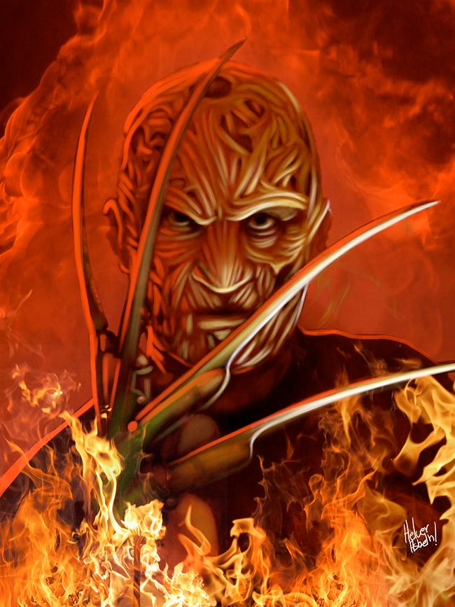 Freddy Krueger - Helver Asbeth