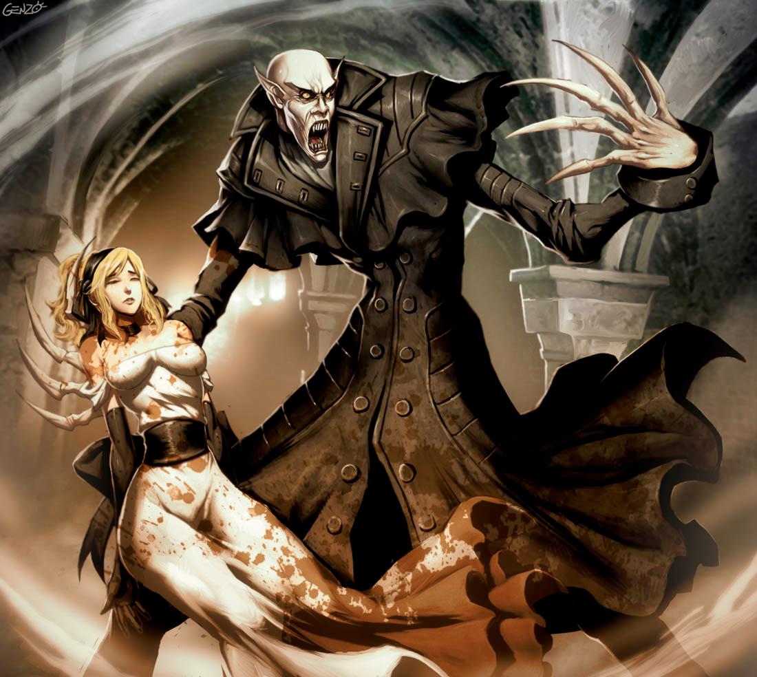 Genzoman - Nosferatu - Count Orlok