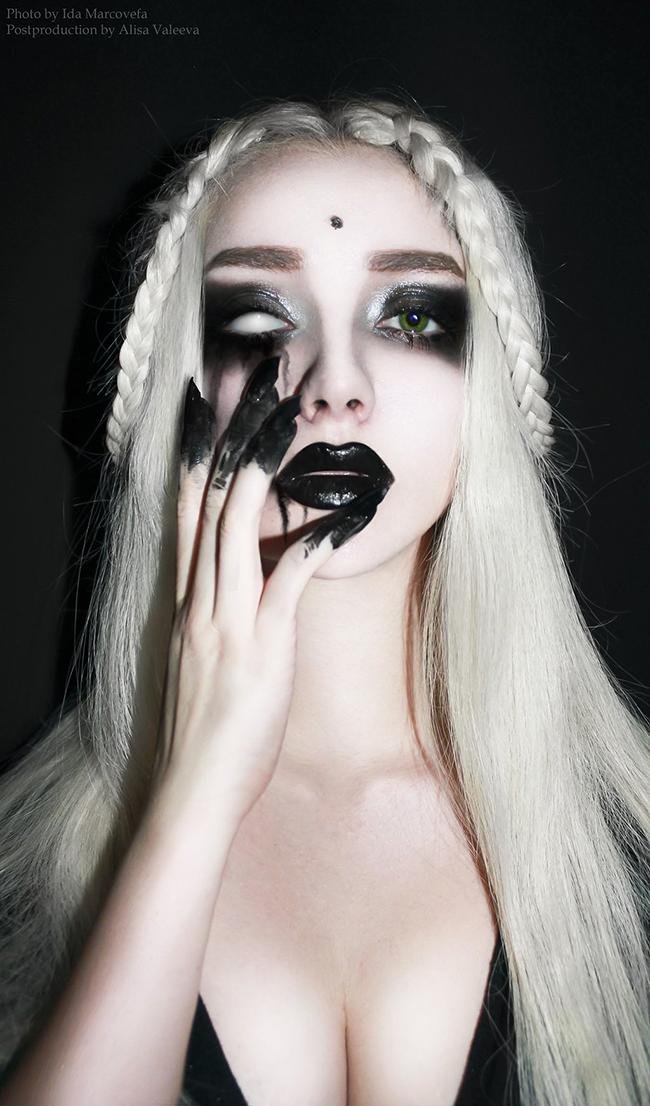 Ghostly Makeup - Alisa Valeeva