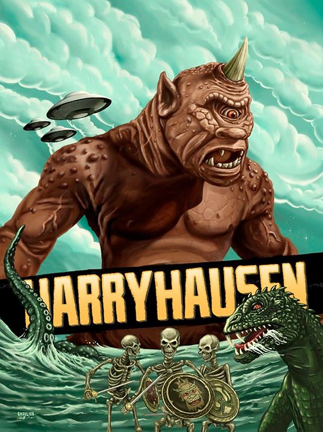 Ghoulish Gary Pullin - Ray Harryhaussen
