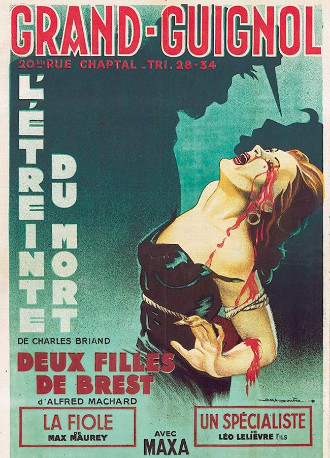 Grand Guignol Theatre Posters