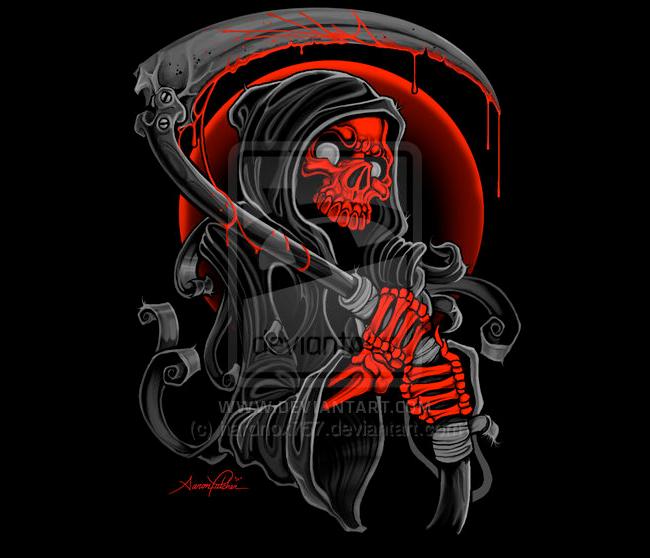 Grim Reaper - Aaron Fulcher