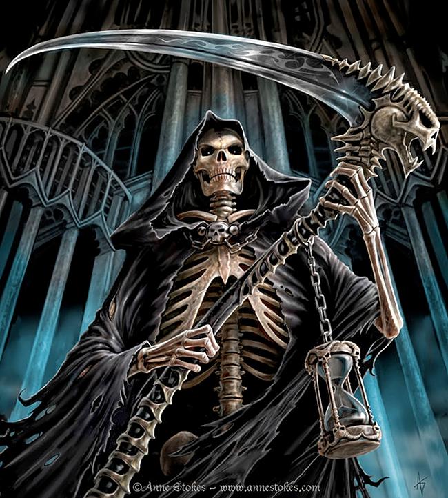 Grim Reaper - Anne Stokes