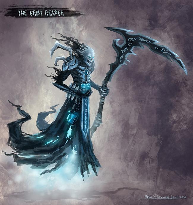 Grim Reaper - Heru Purwanda