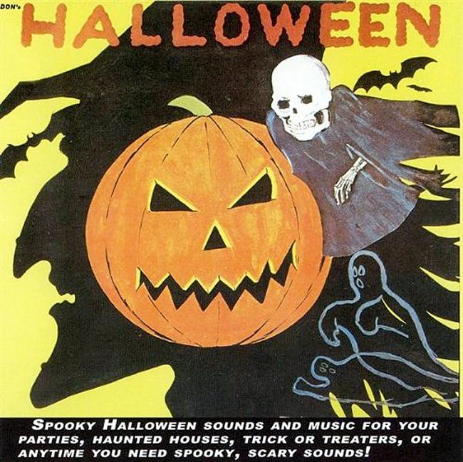 Halloween Album Cover - Don's Halloween