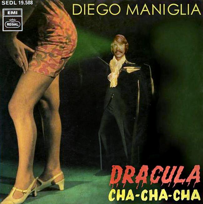 Halloween Album Cover - Dracula Cha Cha Cha