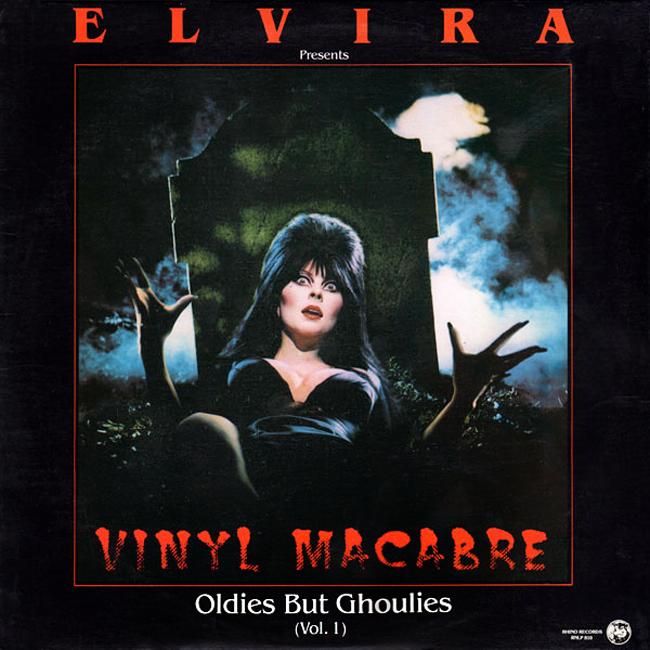Halloween Album Cover - Elvira Vinyl Macabre
