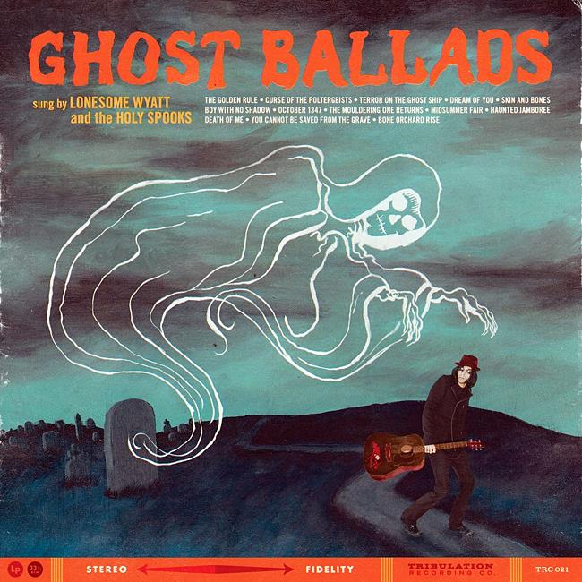 Halloween Album Cover - Ghost Ballads