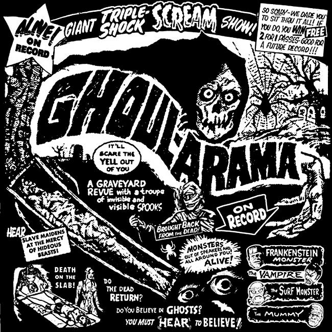 Halloween Album Cover - Ghoul Arama