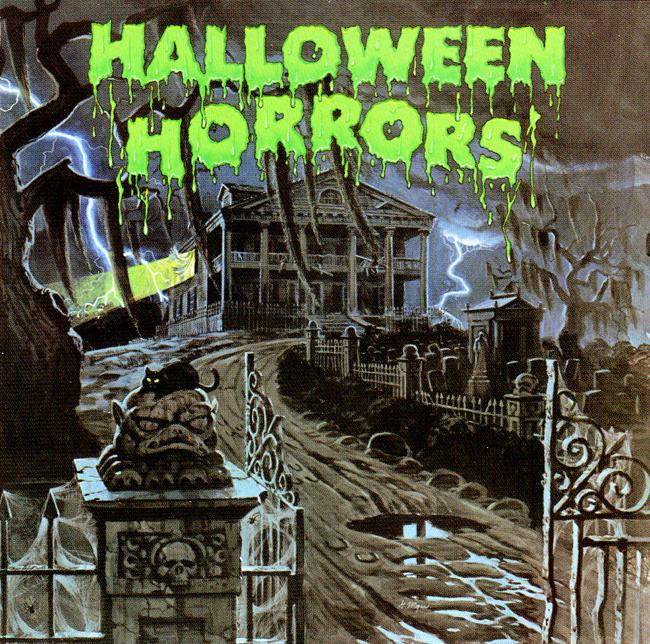 Halloween Album Cover - Halloween Horrors