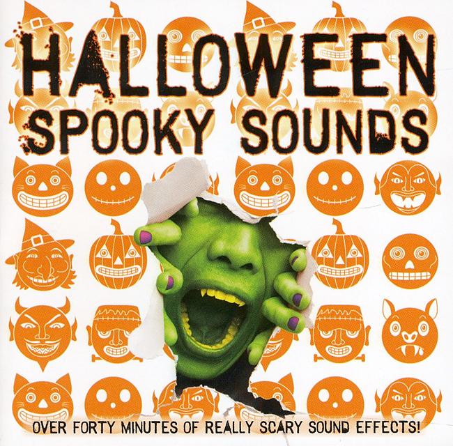 Halloween Album Cover - Halloween Spooky Sounds