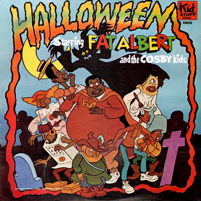 Halloween Album Cover - Halloween Starring Fat Albert