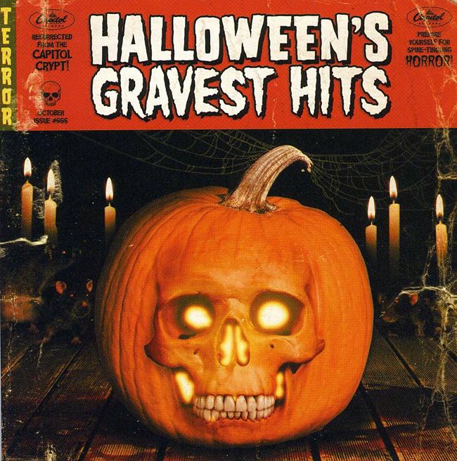 Halloween Album Cover - Halloween's Gravest Hits
