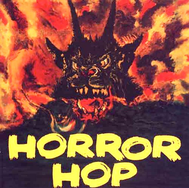 Halloween Album Cover - Horror Hop