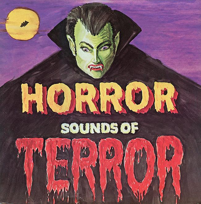 Halloween Album Cover - Horror Sounds of Terror