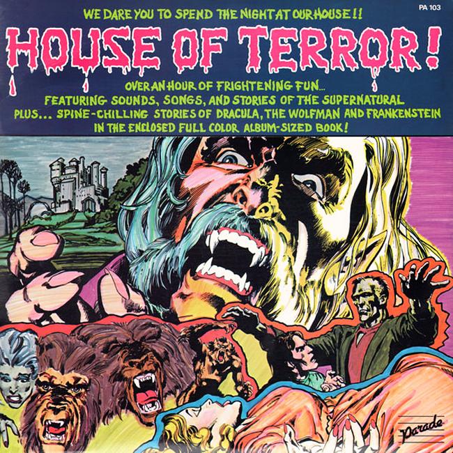 Halloween Album Cover - House of Terror