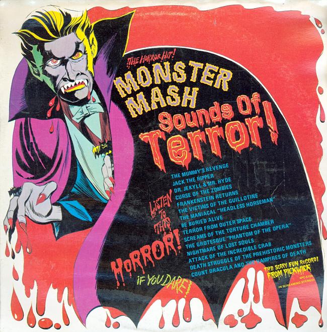 Halloween Album Cover - Monster Mash Sounds of Terror