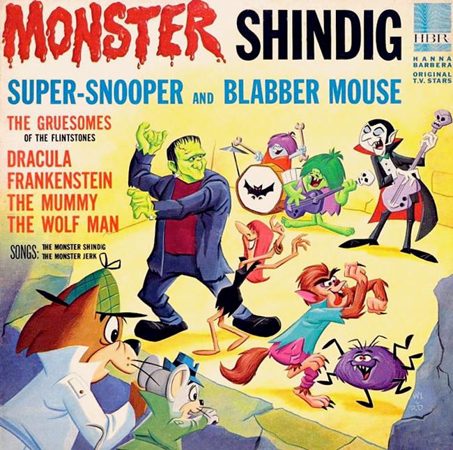 Halloween Album Cover - Monster Shindig