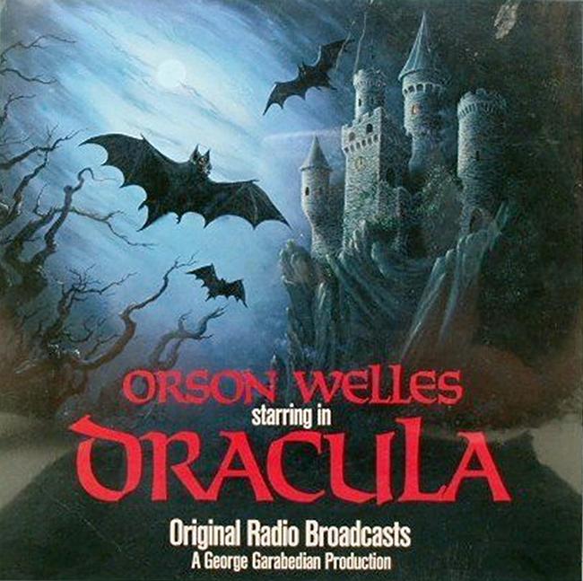 Halloween Album Cover - Orsen Welles starring in Dracula