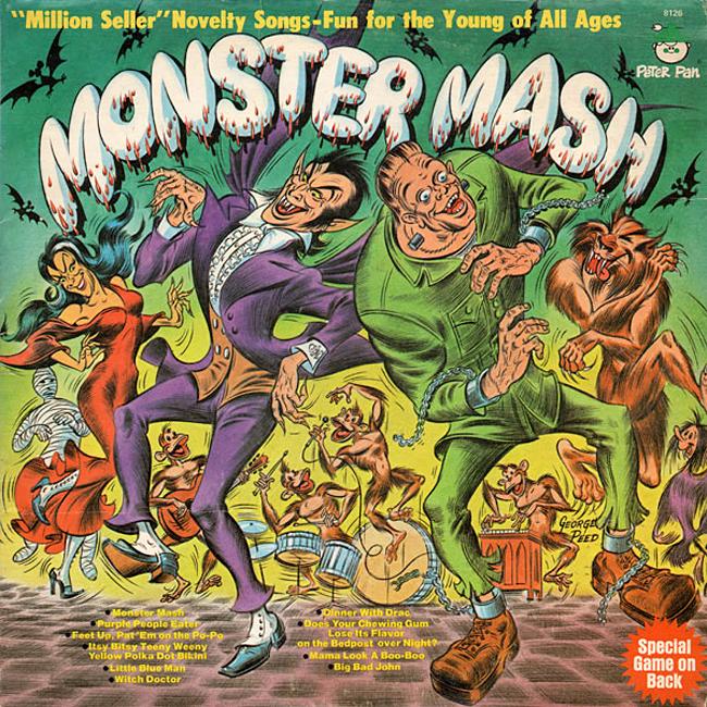 Halloween Album Cover - Peter Pan Monster Mash