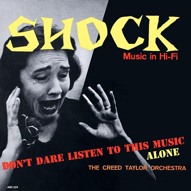 Halloween Album Cover - Shock Music in Hi Fi