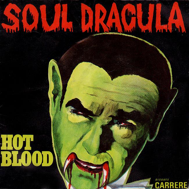 Halloween Album Cover - Soul Dracula Hot Blood