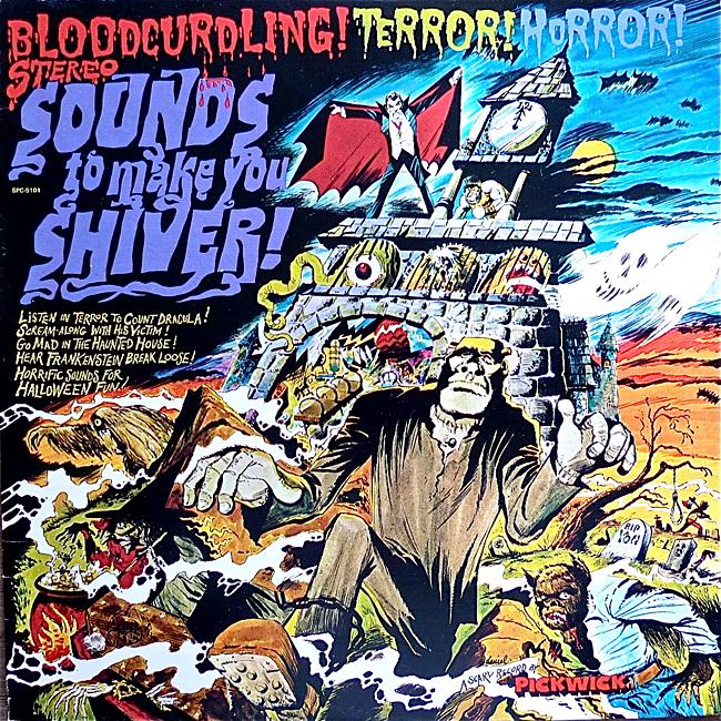 Halloween Album Cover - Sounds to Make You Shiver