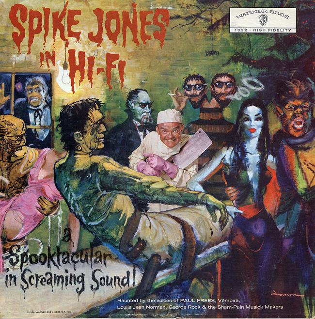 Halloween Album Cover - Spike Jones in Hi Fi