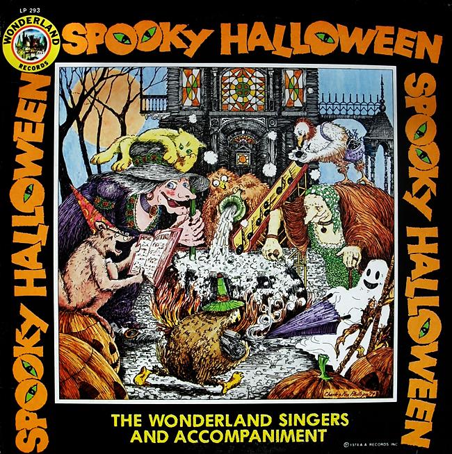 Halloween Album Cover - Spooky Halloween