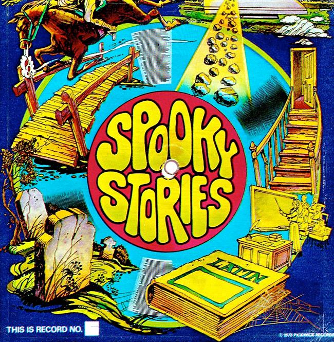 Halloween Album Cover - Spooky Stories