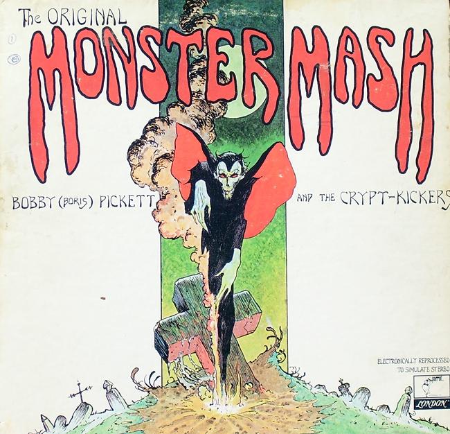 Halloween Album Cover - The Original Monster Mash