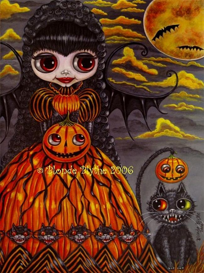 halloween-black-cats - Blonde Blythe