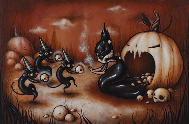 halloween-black-cats - Brandi Milne