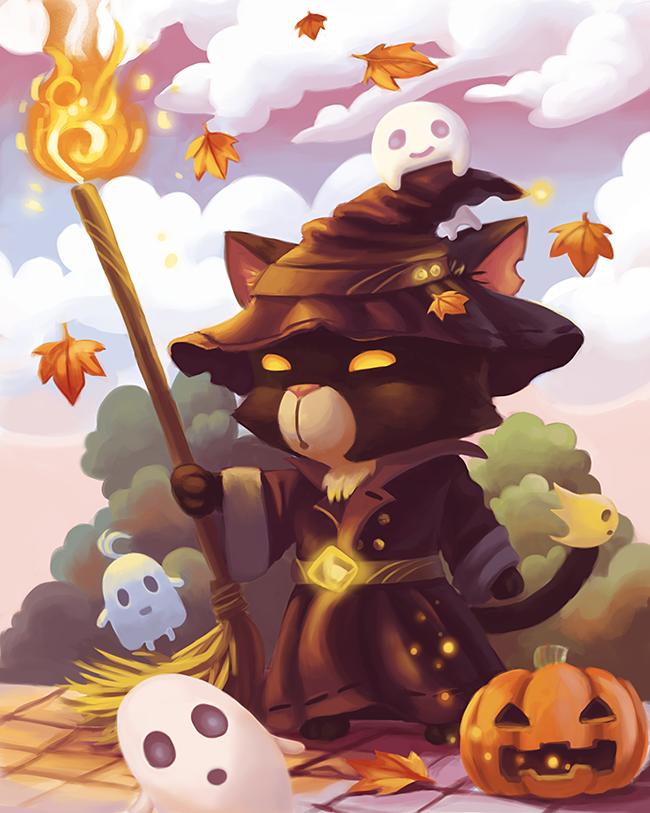halloween-black-cats - Conch