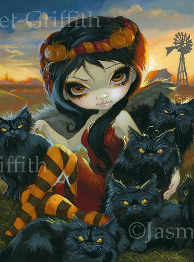 halloween-black-cats - Jasmine Becket-Griffith