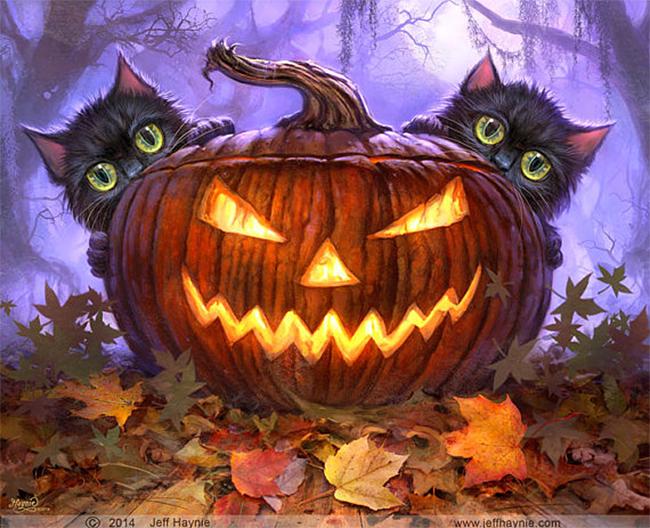 halloween-black-cats - Jeff Haynie