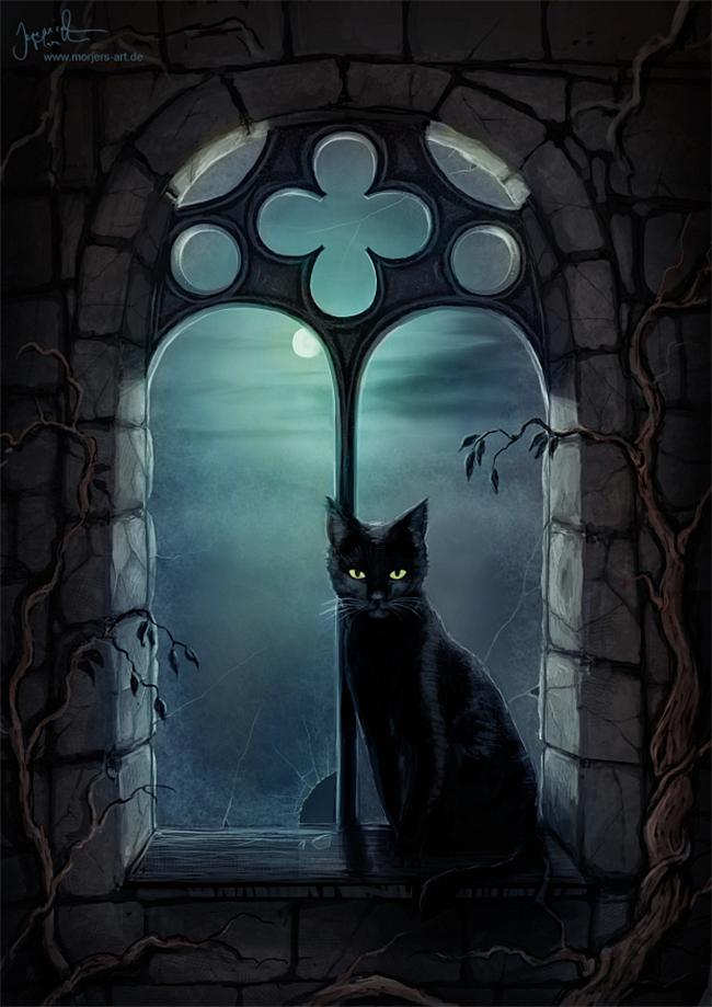 halloween-black-cats - Jeremiah Morelli
