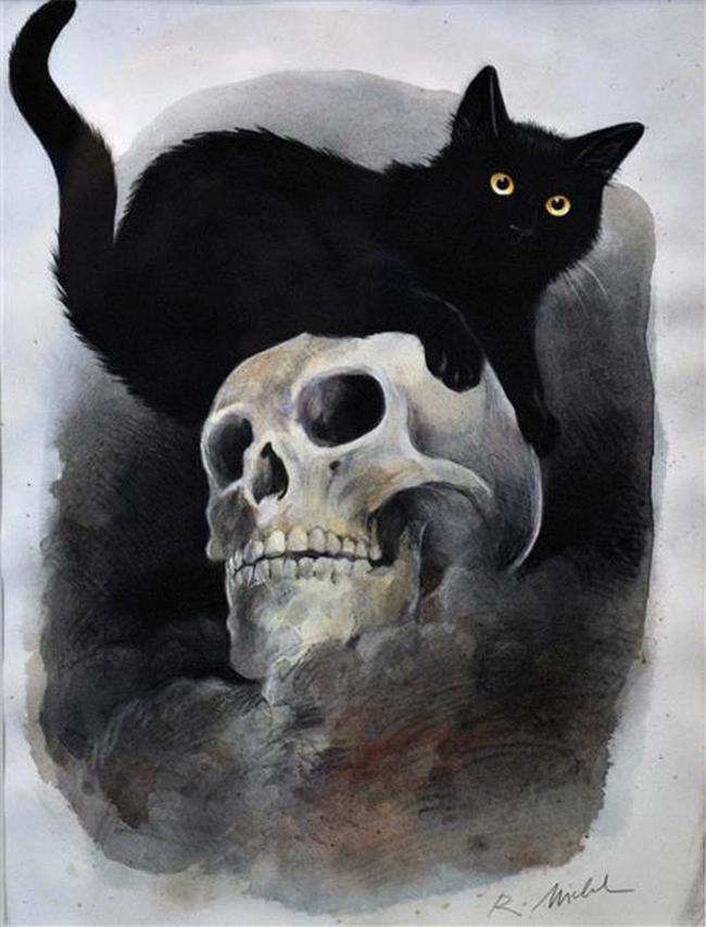 halloween-black-cats - Reinhard Michl