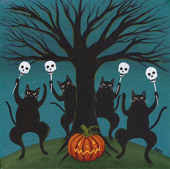halloween-black-cats - Ryan Conners