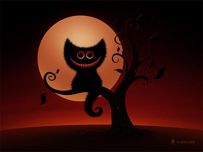 halloween-black-cats - Vlad Gerasimov