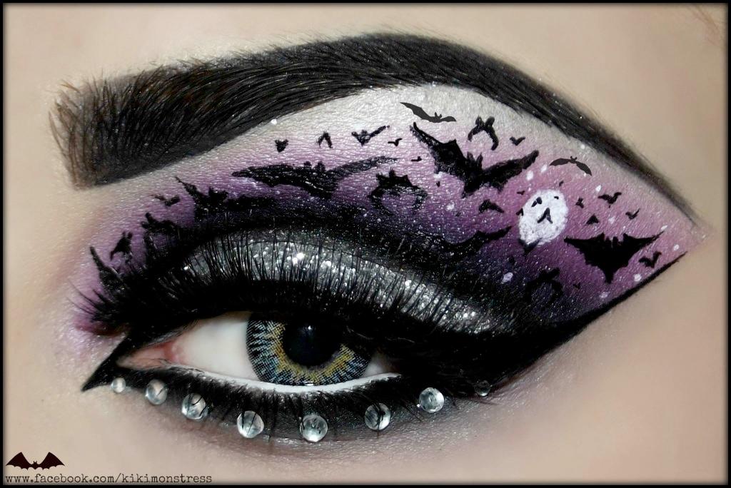 Halloween Eyes - Kiki Makeup