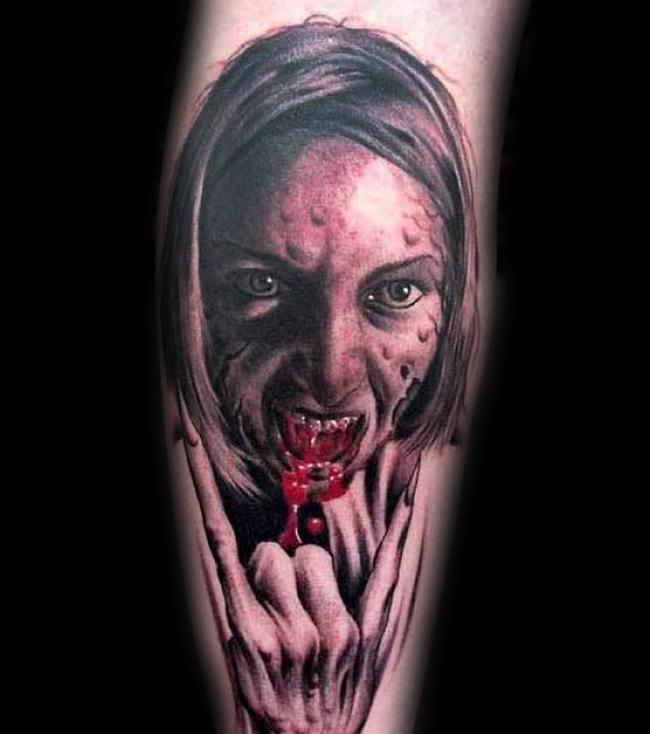 Halloween Tattoo