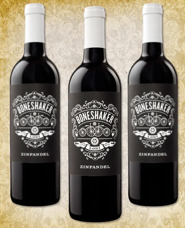 Halloween Wine - Boneshaker Zinfandel