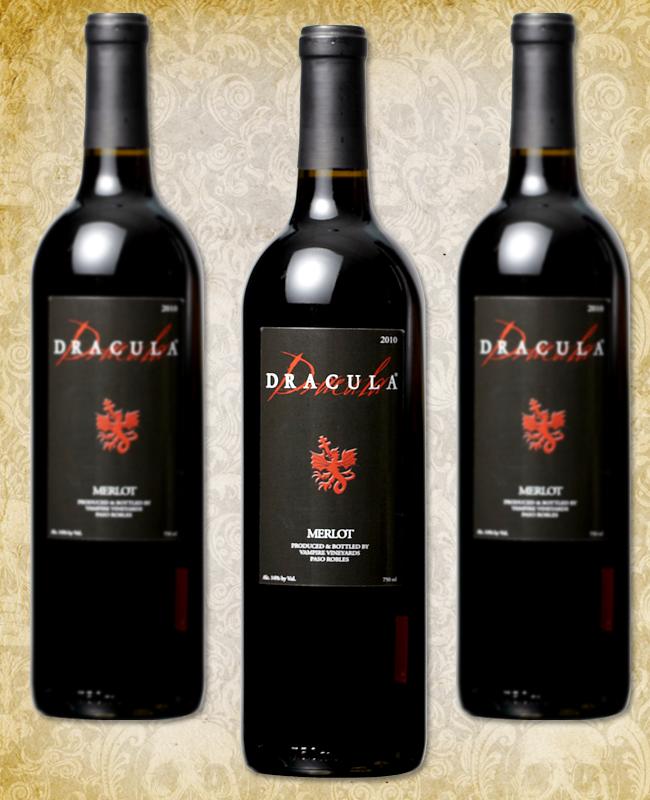 Halloween Wine - Dracula Merlot