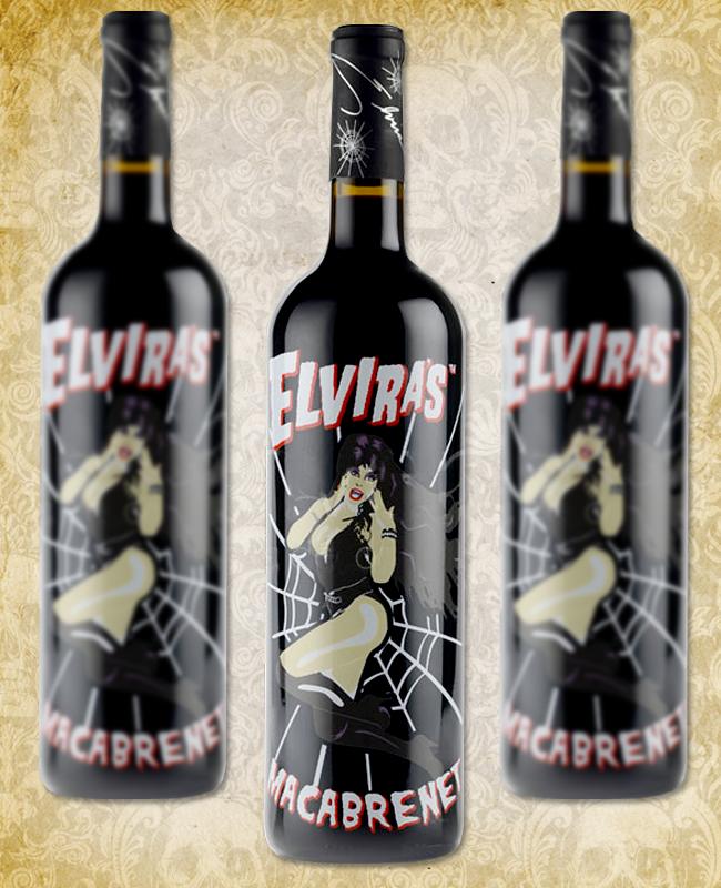 Halloween Wine - Elvira's Macabrenet