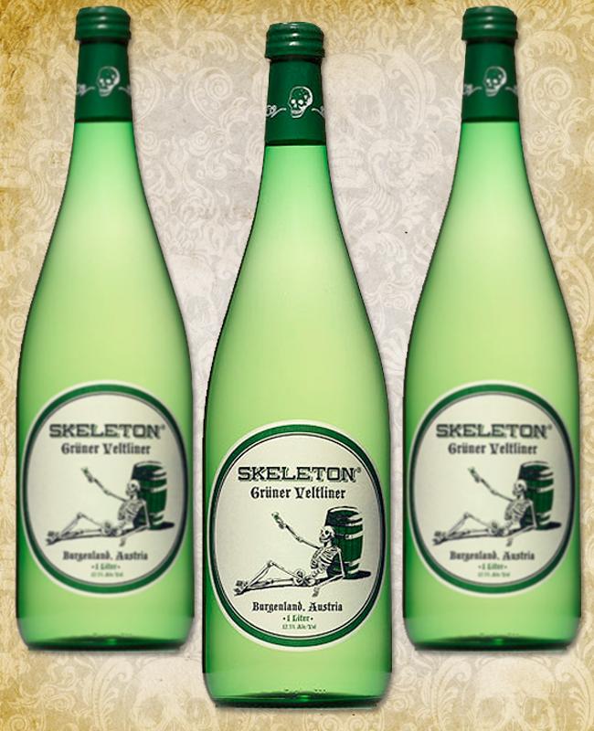 Halloween Wine - Skeleton Grüner Veltliner